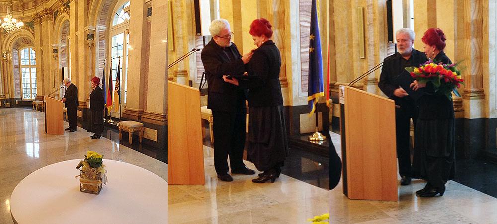 Bundesverdienstkreuz für Laura Halding-Hoppenheit
