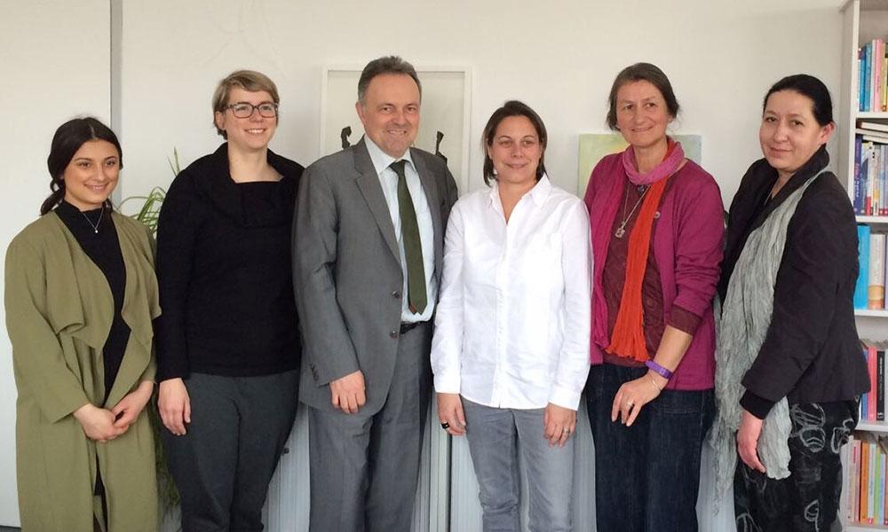 Josha Frey und Patricia Battke zu Gast bei Lagaya